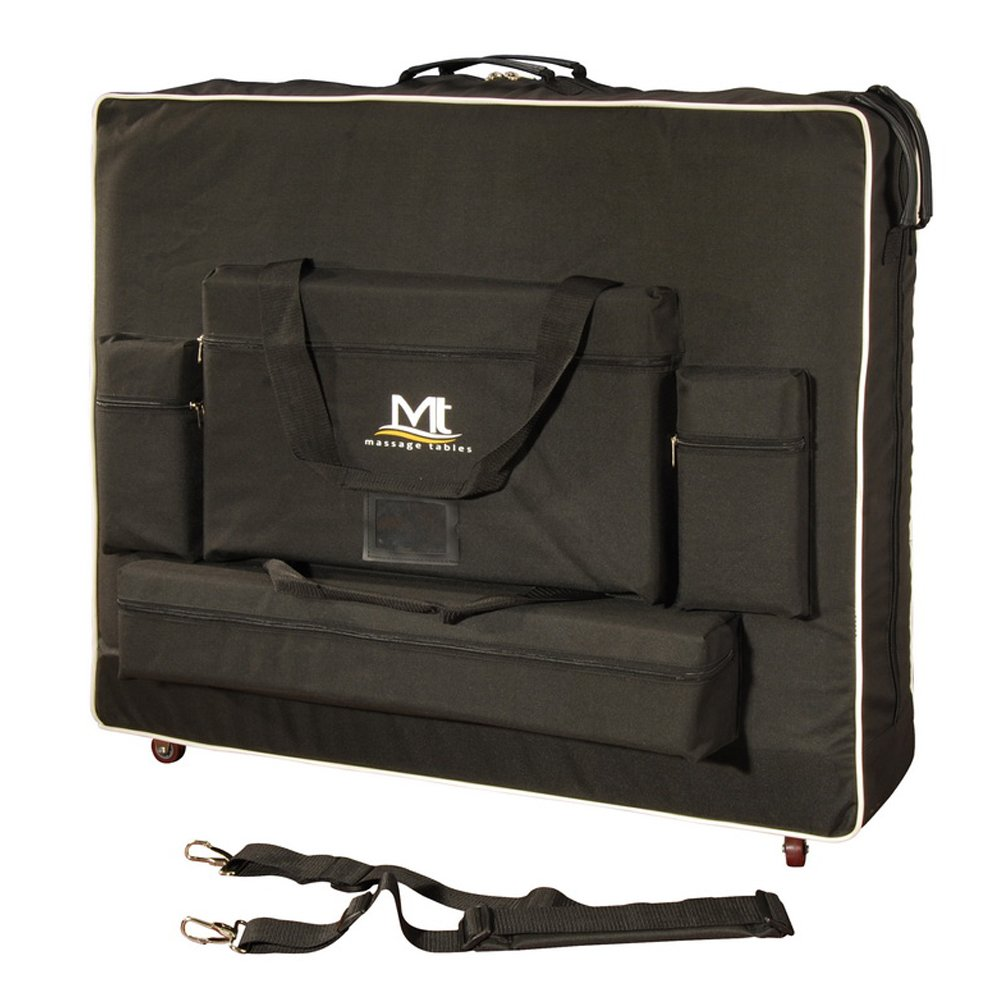mt massage tables 28 wheeled carrying case bag for portable massage table ebay. Black Bedroom Furniture Sets. Home Design Ideas