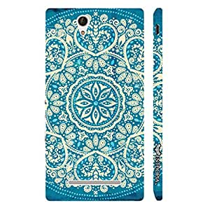 Enthopia Designer Hardshell Case Motif Pattern Back Cover for Sony Xperia C3