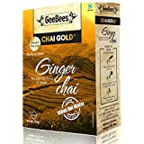GeeBees Chai Gold Instant Premix Ginger Tea Sweetened, 140g