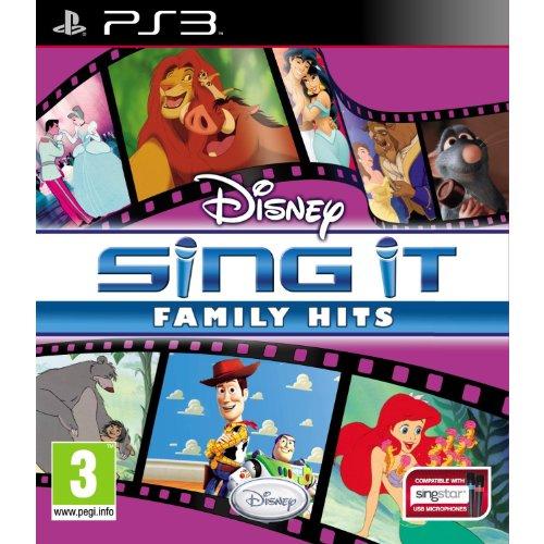Disney Sing It : Family Hits inc 2 Mics (PS3)