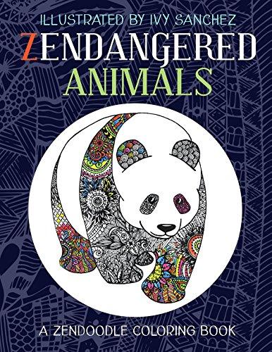 zendangered-animals-a-zendoodle-book-english-edition