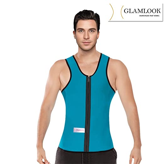 bf85136ba3 Slimming Neoprene Vest Hot Sweat Shirt Body Shapers for Weight Loss Mens  Waist Cincher available at