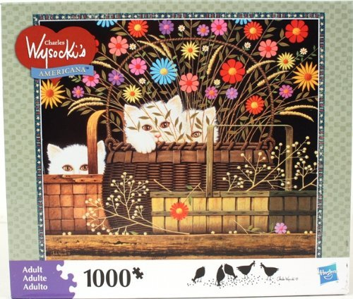 Cheap Fun Hasbro Charles Wysocki's Americana Puzzle, Triple Trouble – 1,000 Pieces (B004YDVNTG)