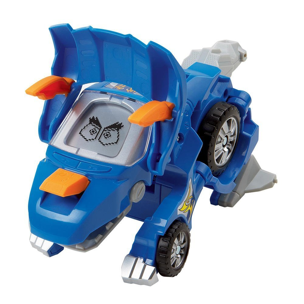 VTech Switch and Go Dinos - Horns The Triceratops Blue