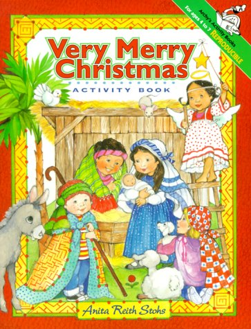 Very Merry Christmas: Activity Book