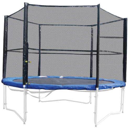Vortigern 8FT SAFETY NET ENCLOSURE FOR CIRCULAR TRAMPOLINE (POLES AND NETTING) CE APPROVED