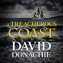A Treacherous Coast Audiobook by David Donachie Narrated by Peter Wickham