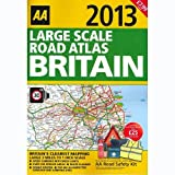 AA Large Scale Road Atlas Britain 2013