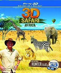 3D Safari Africa [Blu-ray]