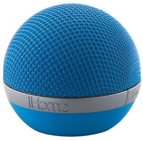 Ihome Bluetooth Wireless Speaker (Blue)