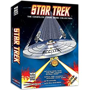 Star Trek: The Complete Comic Book Collection DVD cover