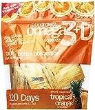 Coromega Omega3 Squeeze with Vitamin D3, Tropical Orange, 120 Count