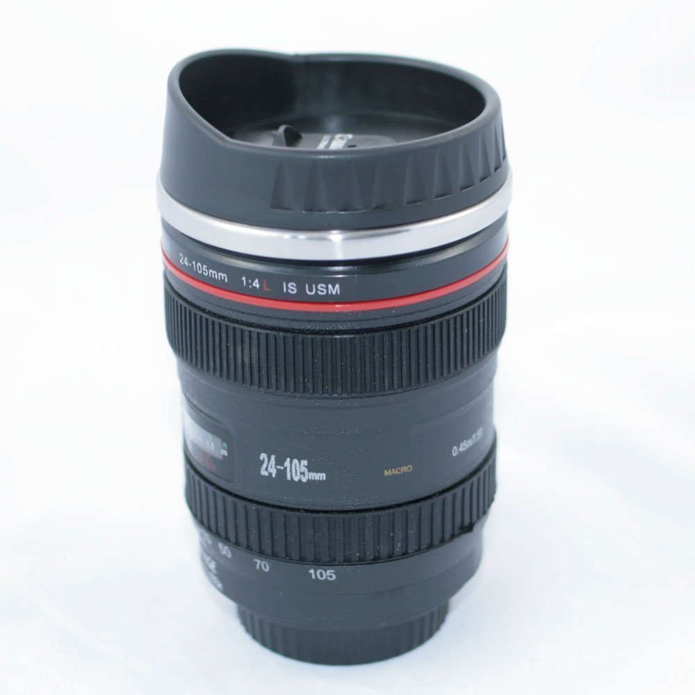 Camera lens coffee mug by eastvita from amazon for Photo lens coffee cup