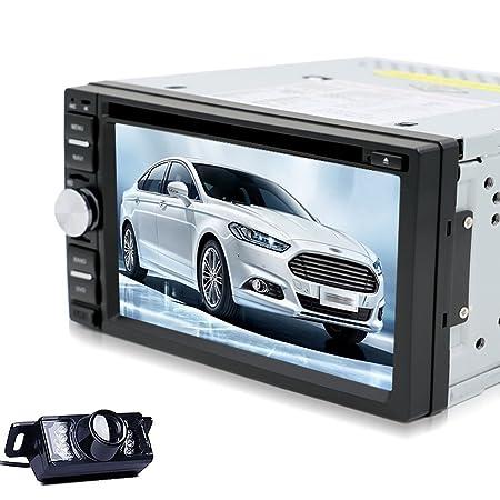 "Vente chaude! NOUVEAU 6.2 ""pouces 4 Go GPS š€ šŠcran tactile 800x480 HD RšŠcepteur GPS WinCE 6.0 stšŠršŠo de voiture Audio Dash Navigation CamšŠra arriššr"