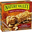 Nature Valley Sweet & Salty Nut Granola Bars, Cashew, 6 - 1.2 Ounce Bars (Pack of 6)