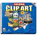 12,000 Clip Art (Jewel Case)