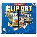 12,000 Clip Art (Jewel Case)