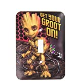 Groot Marvel Guardians of the Galaxy Single Switch Plate