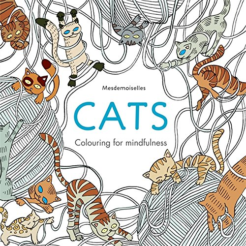 Cats (Colouring for Mindfulness)
