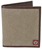 The Vegan Collection Men's Brighton Brown Bi-Fold Wallet