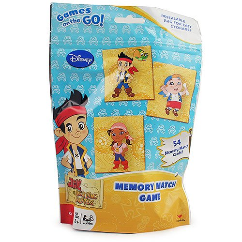 Jake And The Never Land Pirates 32098 Memory Match Game In Resealable Bag