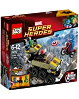 Lego Super Heroes - Marvel - 76017 - Jeu De Construction - Captain America Contre Hydra