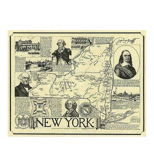 new york state map printable. Our historic maps outline the