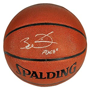 Dwyane Wade Miami Heat Autographed Spalding Indoor Outdoor Basketball with Flash... by Sports Memorabilia