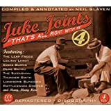 Juke Joints 4-That's All Right With Me