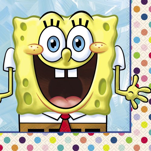 SpongeBob SquarePants Luncheon Napkins, 16ct