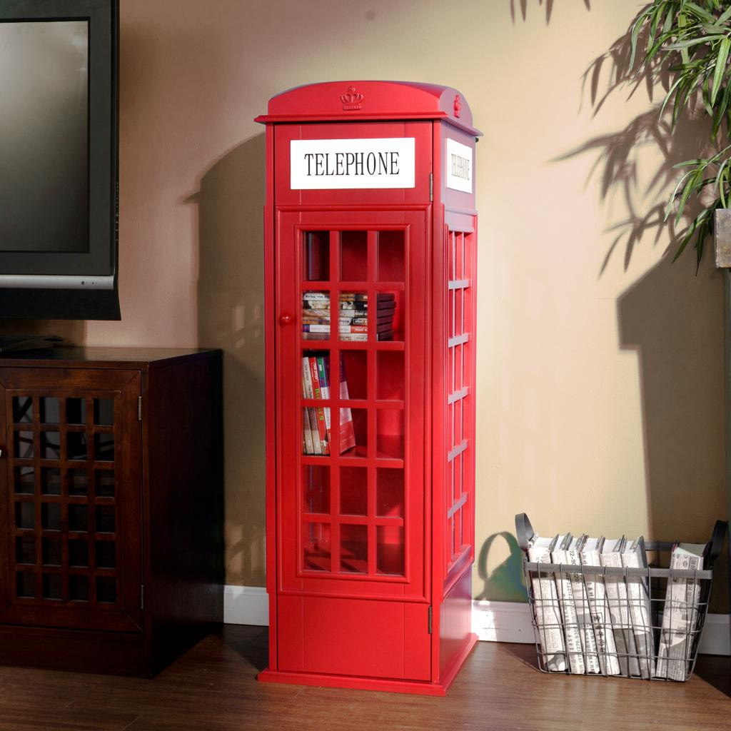 Amazon.com - SEI Phone Booth Cabinet - Audio Video Media Cabinets