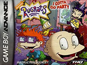 Rugrats - I Gotta Go Party GBA Instruction Booklet (Game