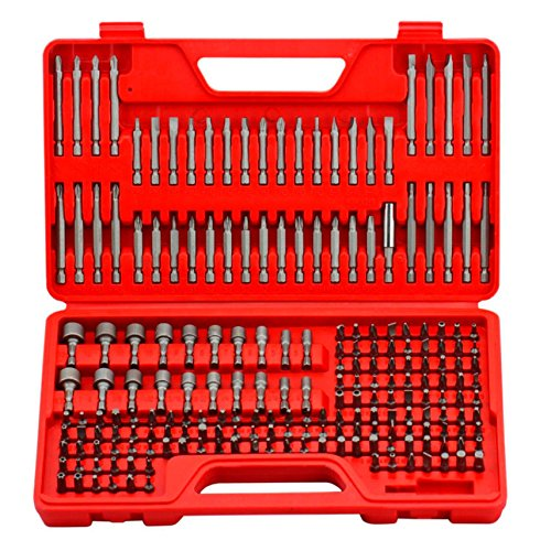 craftsman ultimate screwdriver bit set 208 pcs power tools box case original ebay. Black Bedroom Furniture Sets. Home Design Ideas
