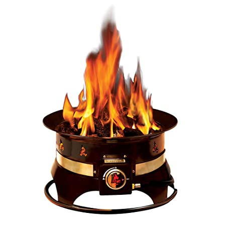 This Propane Fueled Fire Pit Boasts A Lightweight And Compact Design That  Makes Is Convenient For Taking To The Beach, Camping, Tailgating, ...