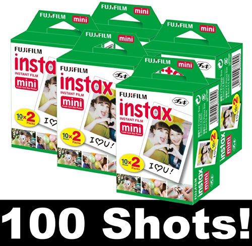 Fujifilm-Instax-Mini-Film-Pelcula-fotogrfica-instantnea-5-cajas-con-20-unidades-para-100-fotografas