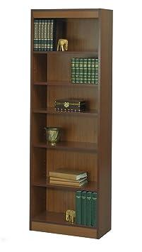Safco 6-Shelf Veneer Baby Bookcase, 24