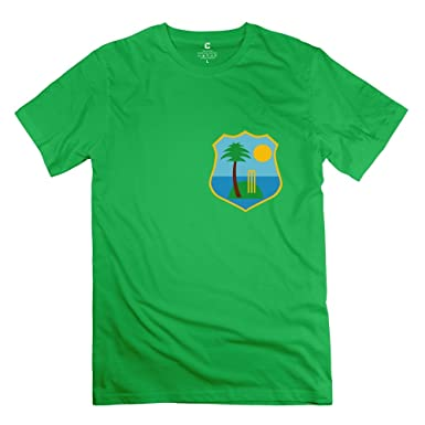 Particular West Indies Cricket Team Tee Designed For Male