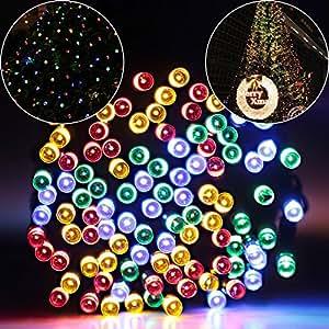 Amazon String lights Addlon Solar LED Christmas
