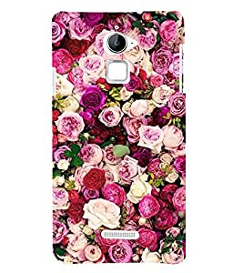 Roses 3D Hard Polycarbonate Designer Back Case Cover for Coolpad Note 3 Lite :: Coolpad Note 3 Lite Dual SIM