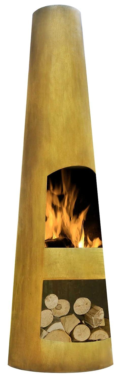 La Hacienda 56079US Oxidized Corten Steel Circo Chimenea, 49-1/5-Inch