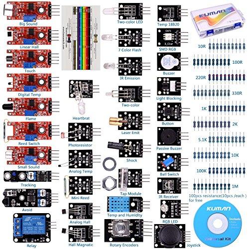 for-arduino-raspberry-pi-kuman-37-in-1-starter-kit-sensor-module-arduino-uno-r3-mega2560-nano-k5