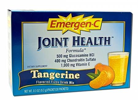 Отзывы Alacer Emergen-C Joint Health Tangerine (1x30 PKT)