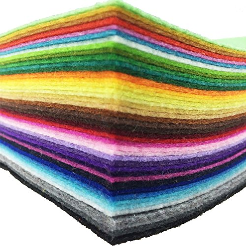 Felt Fabric Sheet Assorted Color
