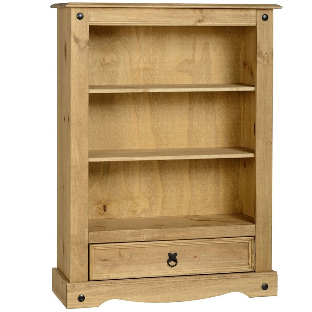 Seconique Corona 1 Drawer Low Bookcase       review and more info