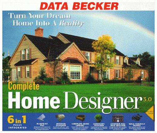 Complete Home Designer 3 0 Software Computer Software