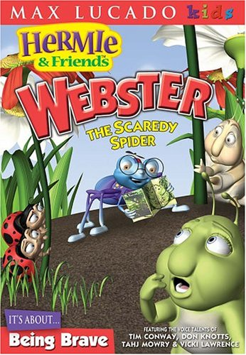Hermie & Friends: Webster the Scardey Spider [DVD]