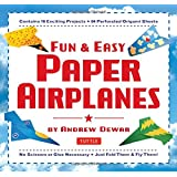 Fun & Easy Paper Airplanes: [Origami Book with 84 Papers, 16 Projects]