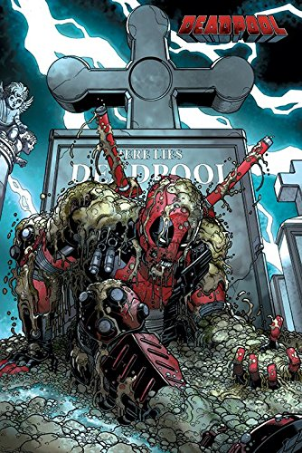 Deadpool «Grave»-Maxi Poster, multicolore