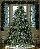 7.5′ Downswept Hunter Fir Pre-Lit Artificial Christmas Tree – Multi Lights