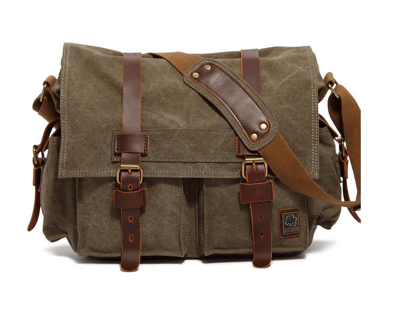 Leather Dslr Shoulder Camera Bag 20
